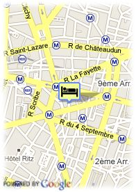 map-Grand Hotel Haussmann