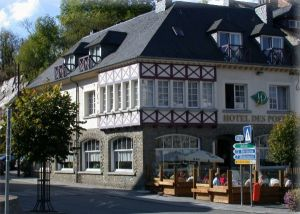 Hotel des Postes in Houffalize