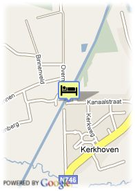 map-Hotel-Restaurant Lommel Broek