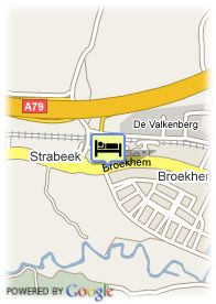 map-Fletcher Hotel-Restaurant Burghoeve