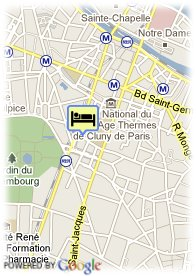 map-Hotel Cujas Pantheon