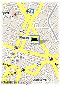 map-Hotel Taylor