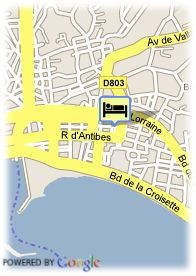 map-Hotel Appia