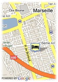 map-Hotel Le Yachting