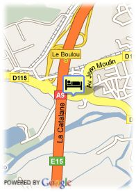 map-Hotel Le Neoulous