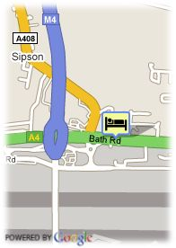 map-Arora Hotel Heathrow