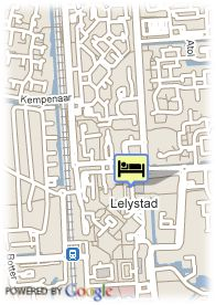 map-Apollo Hotel Lelystad City Centre