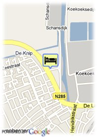 map-Golden Tulip Hotel Zevenbergen