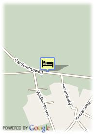 map-Hampshire Inn Mooi Veluwe