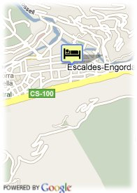 map-Hotel Carlemany