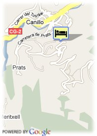 map-Hotel Magic Canillo
