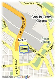 map-Hotel Argenta Tower