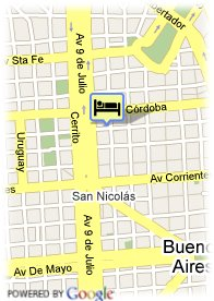 map-Hotel Embassy All Suites