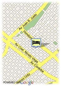 map-Ultra Hotel Buenos Aires