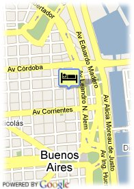 map-Hotel Catalinas Suites