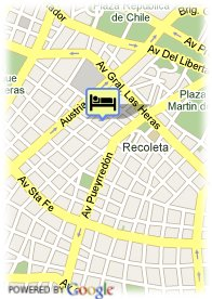 map-Blue Tree Hotels Recoleta