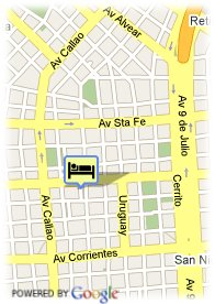 map- Hotel Mayflower Suites