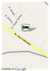 map-Hotel Cataratas