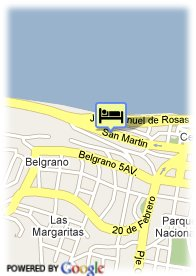 map-Blue Tree Hotels Bariloche