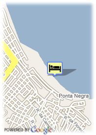 map-Beach Hotel Rosa Nautica