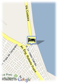 map-Pontal Mar Praia Hotel