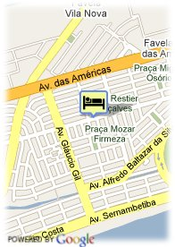 map-Hotel Everest Rio