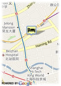 map-City Hotel Shanghai
