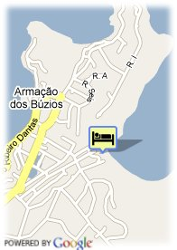 map- Hotel Pousada Brava Club