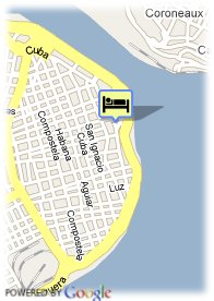 map-Hostal Valencia
