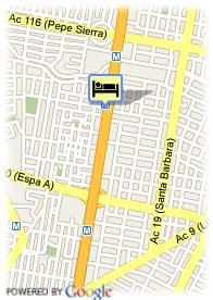 map-Hotel Lancaster House