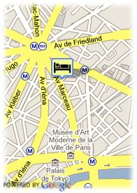 map-Hôtel Galileo