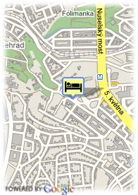 map-Holiday Inn Prague Congress Centre