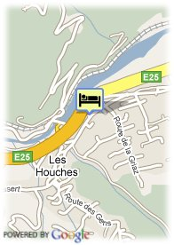 map-Hotel Chris-Tal