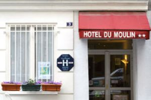 Charme Hotel: Hôtel du Moulin in Parijs