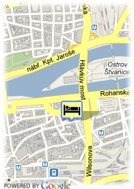 map-Euroagentur Art Hotel Embassy