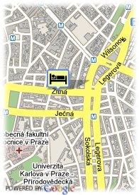 map-Euroagentur Hotel Downtown