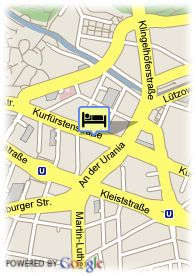 map-Hotel Sylter Hof Berlin