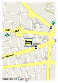 map-Hotel Hecker's