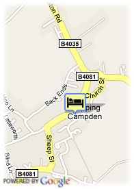 map-Cotswold House Hotel and Spa