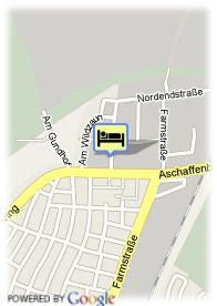 map-Hotel Airport Domizil