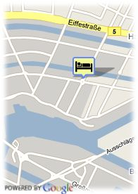 map-Apartment Hotel Hamburg Hamm