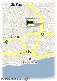 map-The Zleep Hotel Hamburg