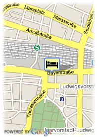 map-Hotel Jedermann