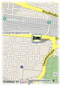map-Hotel Westend