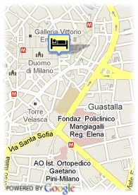 map-Starhotels Rosa Grand