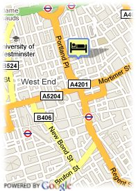 map-Hotel Astor Court