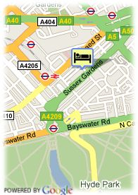map-Hotel Norfolk Towers