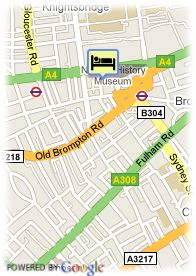 map-Hotel Gainsborough