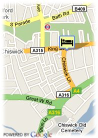 map-Chiswick Hotel and Suites