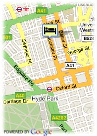 map-Hotel Gloucester Place